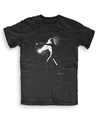 DTTMAH - David Bowie (3) - Music T-shirts by Debi Doss - black - S