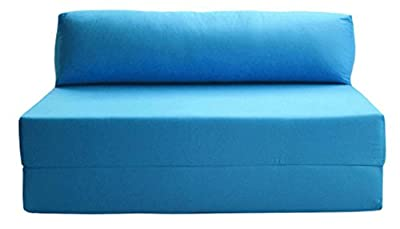JAZZ SOFABED - AQUA BLUE Deluxe Double Sofa Bed
