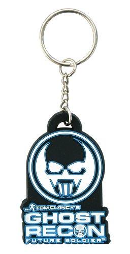 Preisvergleich Produktbild Tom Clancy's Ghost Recon: Future Soldier Gummi Schlüsselanhänger / Keychain: Future Soldier Logo