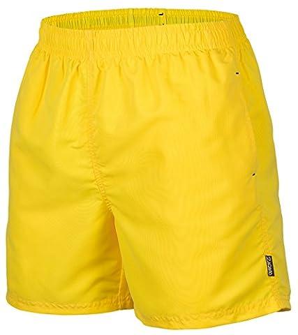 Herren Badeshort, 5013.F yellow, Gr.