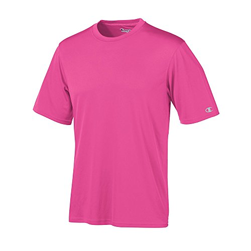 Stag Party, Brown auf American Apparel Fine Jersey Shirt - Wow Pink