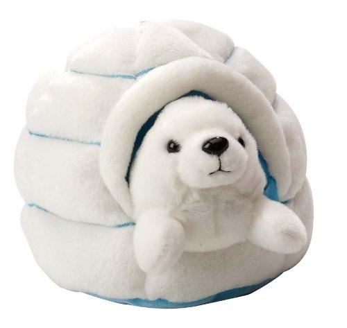 wild-republic-18-x-14cm-polar-igloo-with-harp-seal