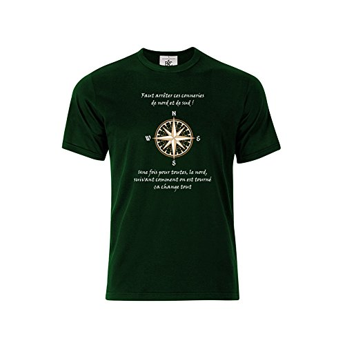 Mygoodprice T-shirt col rond Citation Kaamelott Perceval Nord et Sud 2