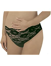Carriwell 261 Maternity Briefs with Lace Medium-Sized Khaki