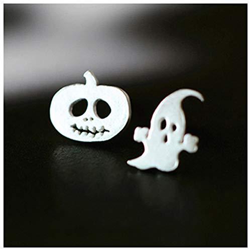 Symbat 1 Paar Frauen Damen Ohrringe Stud Kürbis Gespenst Form Schmuck für Halloween