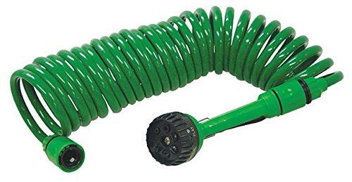 Gartenschlauch Spiralschlauch Schlauch 7,5m Wasserschlauch 7 Funktionen