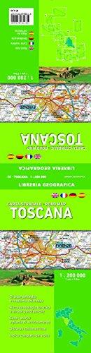 Carta Stradale della Toscana 1: 200 000
