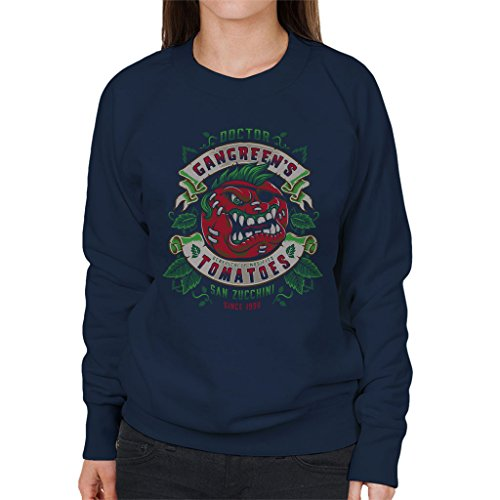 Attack Of The Killer Tomatoes Doctor Gangreens GM Tomatoes Women's Sweatshirt