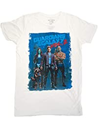 5b9a3e20e4bfd Mighty Fine Guardians of the Galaxy Vol. 2 Lineup Póster Camiseta Gráfica  ...