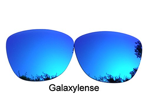 Galaxis Ersatzgläser für Oakley Frogskins Blau Farbe Polarisiert.