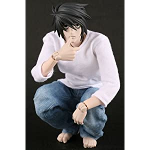 Real Action Heroes DeathNote L (El) (japan import) 2