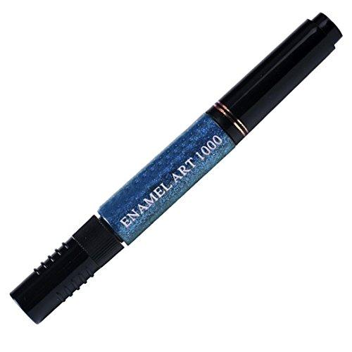 Nail Design Dessin Set bricolage Fulltime® 12 couleurs à deux voies Acrylique 3D Nail Kit solide pur Pen polonaise Brush Dotting Gel Glitter Nail Art Peinture DIY Design Dessin Set