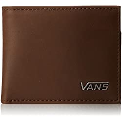 Vans Suffolk - Cartera para hombre, color marrón