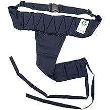 Sharplace Cinturón de Seguridad para Silla de Ruedas de Personas Mayores Antideslizante Ajustable