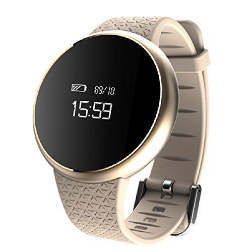 Sport Smart Armband Blutdruck Herzschlag Pulsuhr Läuft Schrittzähler Wasserdichte Gesundheitsuhr,B