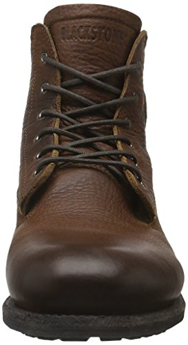 Blackstone Mid Lace Up Boot Fur, Bottines Chukka avec doublure intérieure chaude homme Marron - Braun (old yellow)