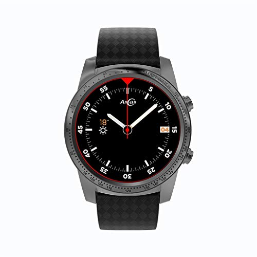 Ni_ka AllCall W1 Smart Watch 3G/2G Watch-Phone Android 5.1 2GB RAM 16GB ROM MTK6580m Quadcore Call Notification Heart Rate Monitor Pedometer Alarm Metal Body MP3 MP4 WiFi for man or women