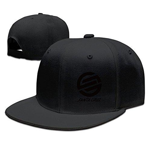 Hittings Santa Cruz Surf Skate Hip Hop Snapback Baseball Hat Cap One Size Black par  Hittings