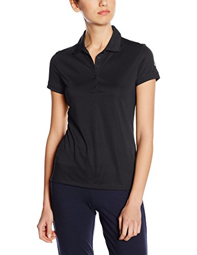 Nike Victory Solid Polo pour femme noir/blanc