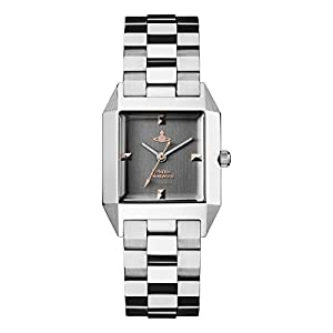 Vivienne Westwood Womens Analogue Classic Quartz Watch with Stainless Steel Strap VV143GYSL