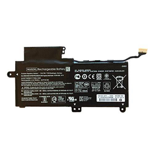 szhyon 7.7V 35wh Original NU02XL Laptop Battery compatible with HP NU02XL HSTNN-UB6U TPN-W117 843535-541 Series Tablet