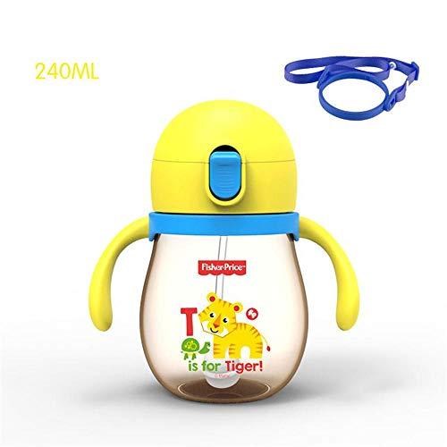 Straw Cup Child Sippy Cup Auslaufsicherer Kindergarten-Trinkbecher Baby Auslaufsicher