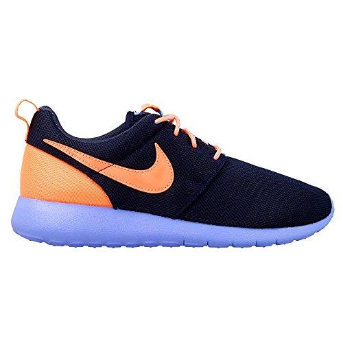 Nike Roshe One (Gs) Scarpe da Ginnastica, Unisex - Bambino Multicolore (Obsdn/Brght Mng-Cnry-Chlk Bl)