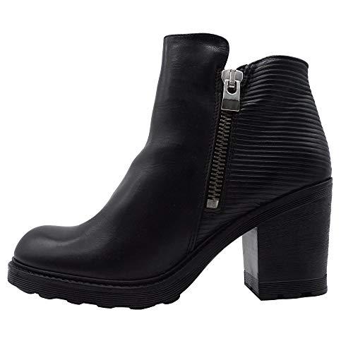 Bronx BX 554 33740-AF Boots Stiefeletten Schwarz, Größe:42 EU