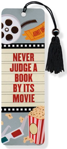 Beaded Bookmark Never Judge a Book by Its Movie