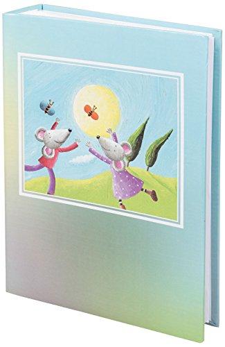 Idena 540951 Baby Einsteckalbum Mäuse, für 200 Fotos im Format, 10 x 15 cm