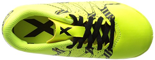 adidas Performance - X 15.4 Indoor, Scarpe da calcio Bambino Giallo (Gelb (Solar Yellow/Core Black/Frozen Yellow F15))