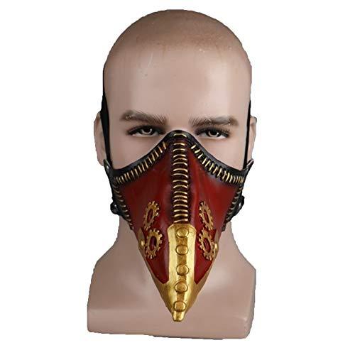 nihiug Mein Held College Cos Cos Crow Master Maske Maske Repairer Rasierer Maske Pest Arzt Schnabel Requisiten Halloween,A-OneSize