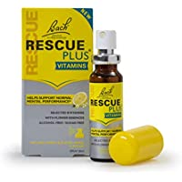 Bach Rescue Plus vitaminas Limón & Flor de saúco SPRAY 20ml