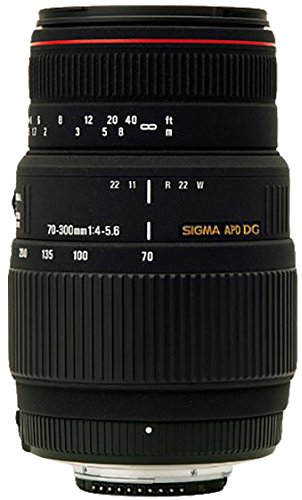 Sigma AF 70 300mm F/4 5.6 DG APO Macro Telephoto Zoom Lens for Canon DSLR Camera