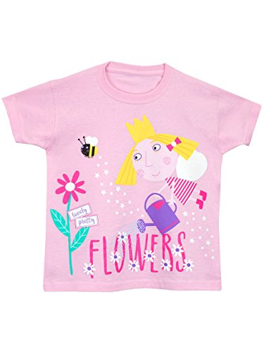 Ben & Holly Mädchen Ben and Holly T-Shirt Kurzarm 116