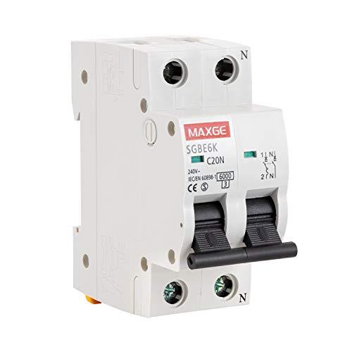Interruptor Automático Residencial 1P+N-6kA 40 A1 + N