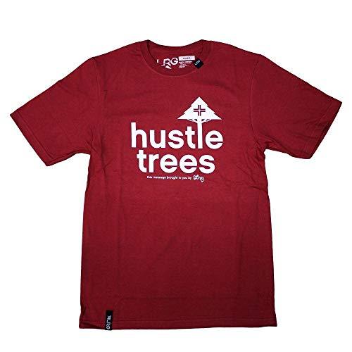 LRG RC Hustle Trees T-Shirt Red White - Hustle Trees