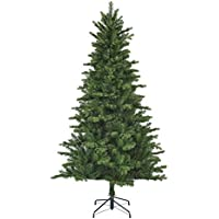 Black Box Trees Milton Spruce 385777 Artificial Christmas Tree, 215 cm Height, 127 cm Diameter, 1210 Branches, Green