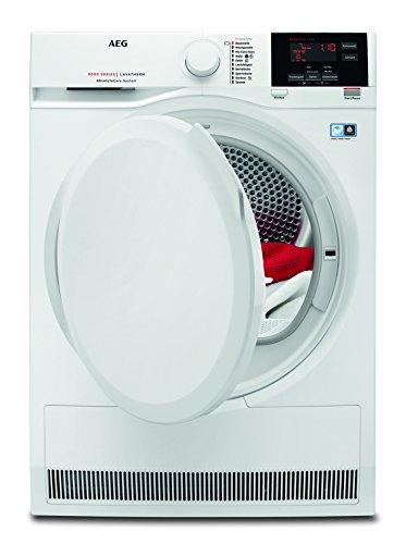 AEG T8DB60570 Wärmepumpentrockner / Energieklasse A++ (211 kWh pro Jahr) / 7 kg / kein Einlaufen der Wäsche / Wäschetrockner mit Wärmepumpe und ProSense-Technologie / weiß