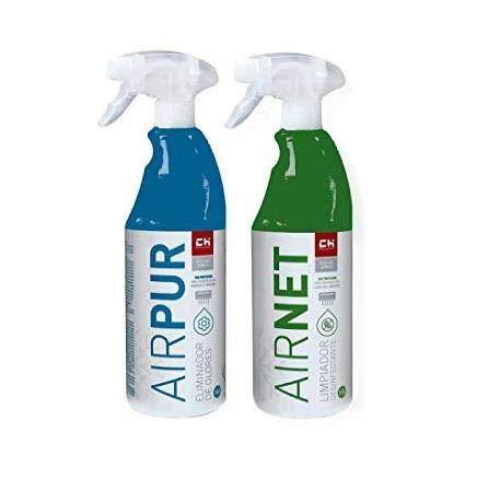 Chquimica Pack AIRNET + AIRPUR pulverizadores Limpiador