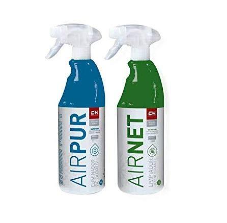 CH Quimica Pack AIRNET + AIRPUR pulverizadores Limpiador