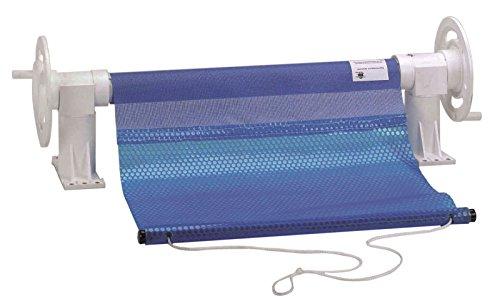 Steinbach Solarplanenaufroller für Becken bis 5 m Breite, Kunststoff, weiß, 1 x 1 x 1 cm, 036085