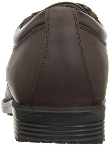 Rockport Essential Details Hommes Large Cuir Oxford Dark Tan