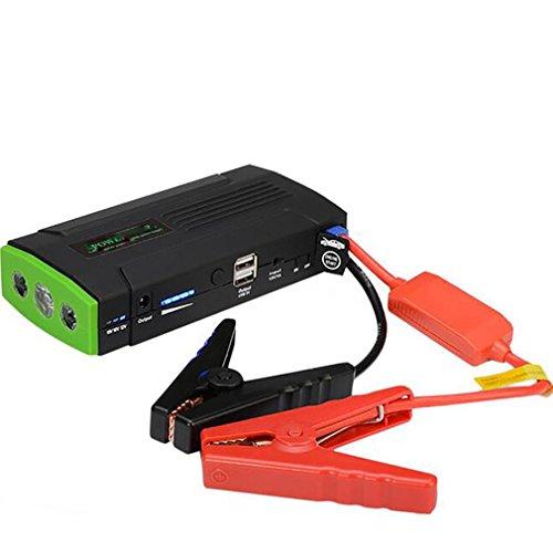 LPY-400A Spitze 13800 mAh Tragbare Auto Starthilfe 12 V Autobatterie-ladegerät Mit Mehrere Schutz Smart Booster Clamps und LED-Licht Smart Booster