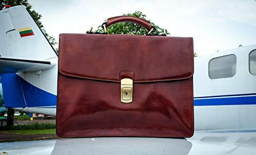 Aktentaschen 2018 Hohe Qualität Aus Echtem Leder Herren Aktentasche Mode Handtasche Angenehme SüßE Gepäck & Taschen