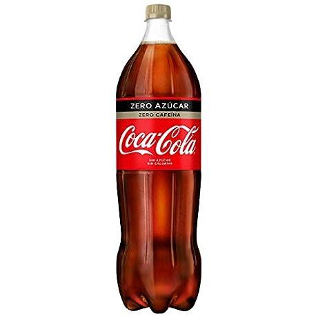 Coca Cola Zero Zero Refresco con gas de cola 2 l Botella de pl stico