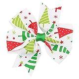 Yvelands Baby Weihnachtsverzierungs-Bowknot-Haarnadel-Kopfschmuck(C,free)