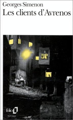 Les Clients d'Avrenos par Georges Simenon