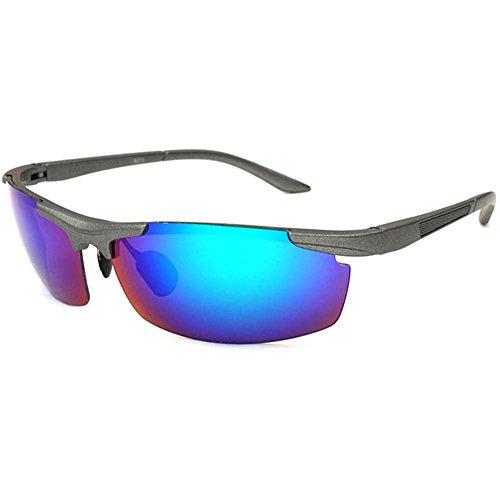 UGUAX Herren Sport Sonnenbrille Radfahren Sonnenbrille Laufen Fahren Baseball Angeln Golf Sonnenbrille, Leichter Flip, Y 1