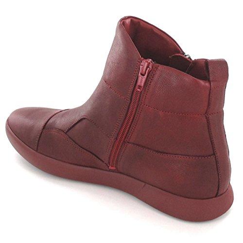 87034 Ladies Griasdi; Rot Vermelho Bootee; Damen Think; Griasdi; 87034 stiefelette; Pensar; waS0B